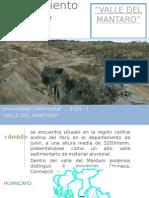 Trabajo Valle Mantaros