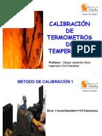 Calibracion de Termometros