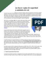 SQL Server Copias de Seguridad en Unidades de Red