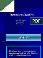 Clase 1 - Hemorragia Digestiva