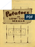 Potatoes in Low-Cost Meals (1942)