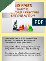 Enzymes II CAPE Biology Unit 1