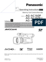 Panasonic AG-AC160 Basic