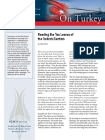 Reading the Tea Leaves of the Turkish Election