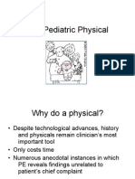 The Pediatric Physical