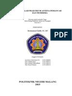 Praktikum Antena Dan Propagasi 1. Revisi
