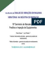 Tecnicas de Monitoramento de Vibracoes Em Maquinas Vibratorias