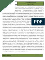 analisis critico hacia la educacion en mexico