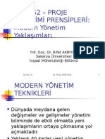 i̇nm 552_ders Notu_modern Yöneti̇m Yaklaşimlari