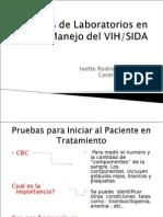Pruebas de Laboratorios en El Manejo Del VIH