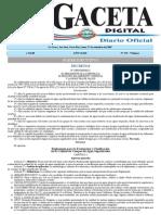 Reglamento para Evaluación y Clasificación de Calidad Agua Superficial