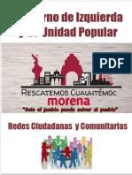 Gobierno de Izquierda y Unidad Popular en Cuauhtémoc