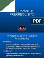 Programas de Prerrequisito-AIB