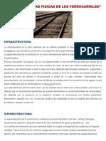 Caracteristicas Fisicas de Los Ferrocarriles