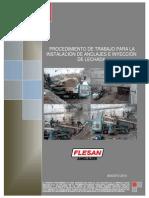 02. Procedimiento de Instalacion de Anclajes e Inyeccion de Lechada