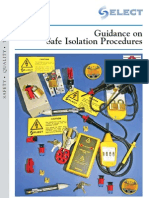 guidance on safe isolation procedures