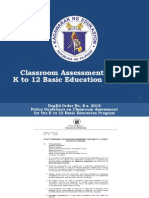 Assessment in the K to 12 Basic Education Program_April 1