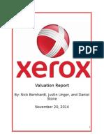 Xerox Final Presentation
