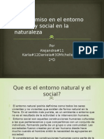 Compromiso en El Entorno Natural y Social