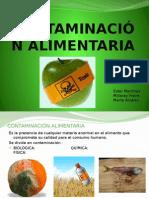 Contaminación alimentaria