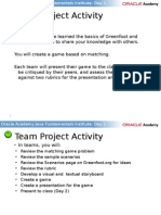 Team Project Activity