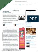 Marketing Standard Operating Procedures _ EHow