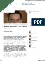 02-06-15 Negociar Encuestas, Buen Negocio