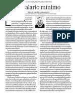 El salario mínimo - Miguel Jaramillo - El Comercio - 020515