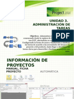1. Administración de Tareas