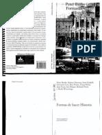 Burke - Formas de Hacer Historia