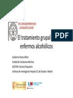 tratamiento grupal de enfermos alcoholicos
