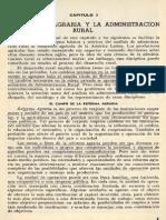La Reforma Agraria y La Administración Rural (Vol. 23, N. 59-1963)