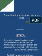 Modulo Bioetica 0 Octubre 2014