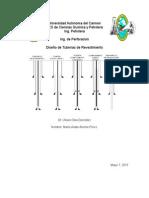 Diseño de tuberia de revestimiento