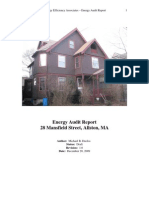 Energy Efficiency Associates – Energy Audit Report