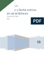 Proteger y Ocultar Archivos Sin Uso de Software