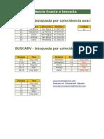BuscarV Exacto Inexacto y Comodines Wildcard