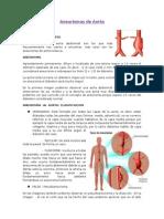 Aneurismas de La Aorta y Otras Aneurismas