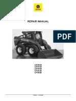 new holland l140 skid steer loader master illustrated parts list manual book