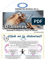 Cartelera de Diabetes