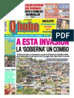 QHUBO MEDELLÍN MAYO 30 DE 2015 - QHubo Medellín - Portada - pag 1.pdf