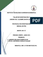 Protocolo Taller 1