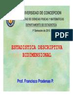 Analisis Descriptivo Bidimensional