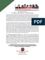 Declaración Pública – RED – 02 de Junio de 2015