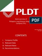 Stock Analysis of PLDT company