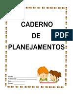 Capa Caderno de Planejamento