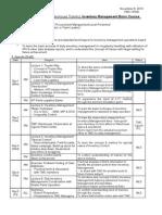 IM Basic Course Agenda 2010.11.08
