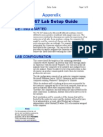 Lab Setup Guide 98 367