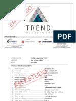 Estudodetabela Trend 2011