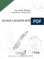 Visita de 1560_No hay caciques ni señores_Hermes Tovar Pinzón